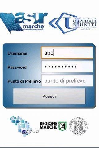 app referti online Marche