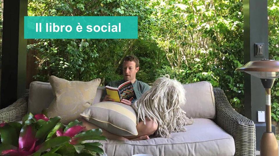 Il libro è social
