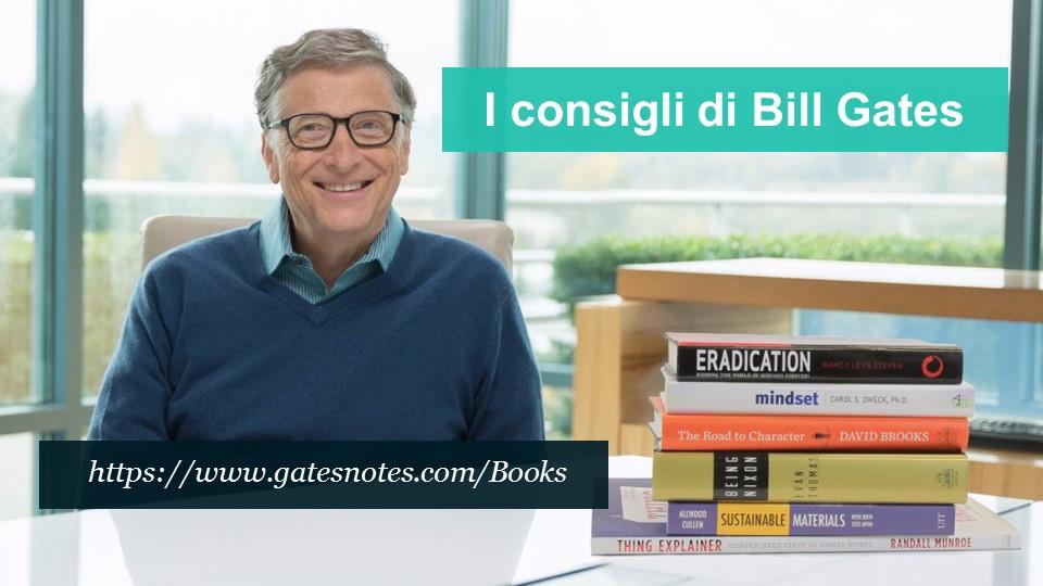 I consigli di Bill Gates