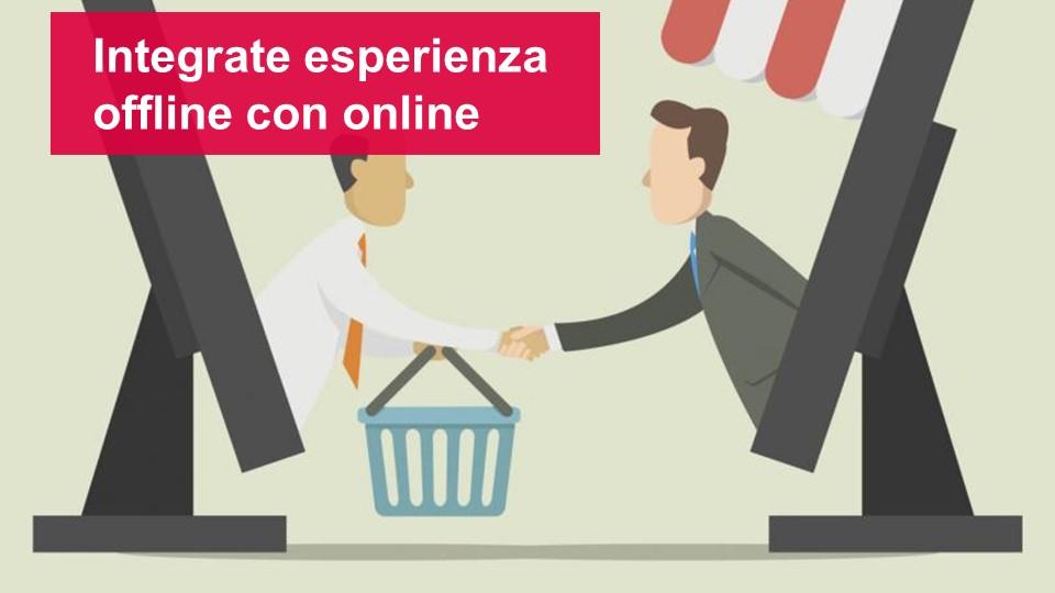 Integrate esperienza offline e online