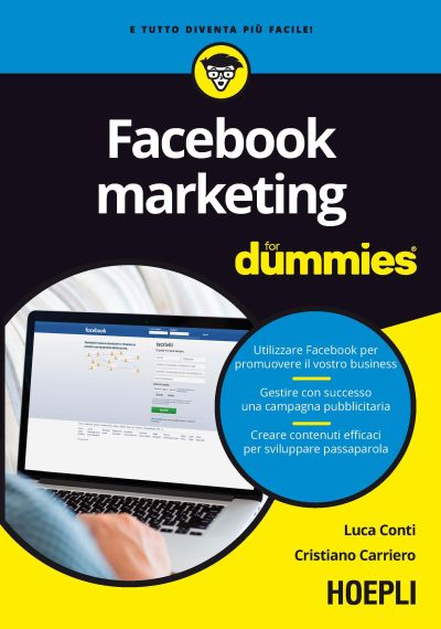 copertina facebook marketing for dummies